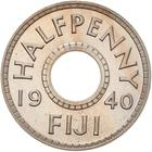 Fiji / Halfpenny 1940 / Proof - reverse photo