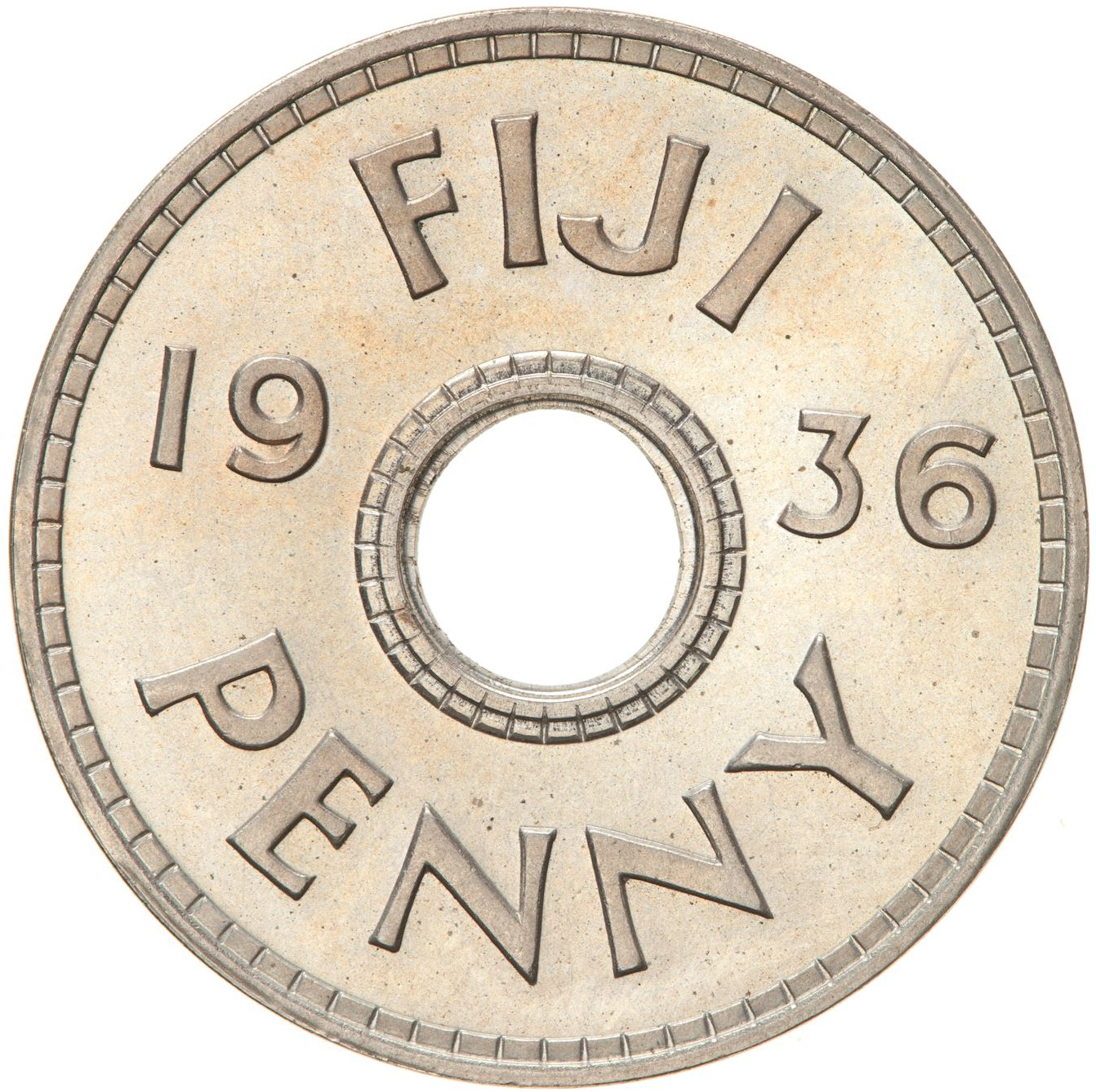 Penny 1936 (King Edward VIII): Photo Proof Coin - 1 Penny, Fiji, 1936