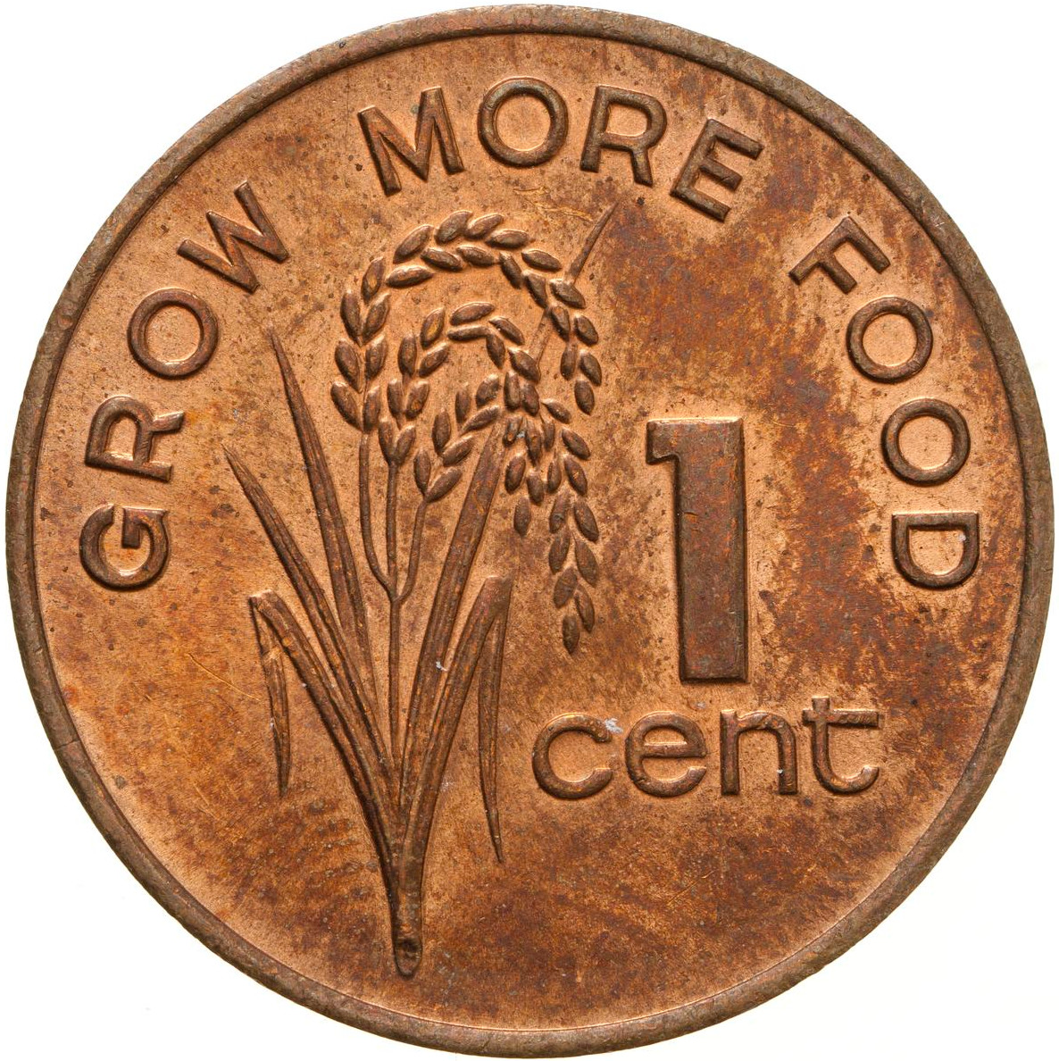 One Cent 1980 FAO: Photo Coin - 1 Cent, Fiji, 1980