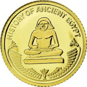 Fiji / Ten Dollars 2010 Ancient Egypt Scribe - obverse photo