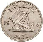 Shilling 1958: Photo Coin - 1 Shilling, Fiji, 1958