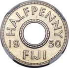 Fiji / Halfpenny 1950 / Proof - reverse photo