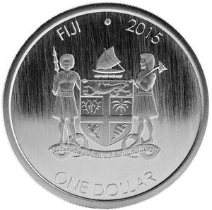 Fiji / Silver Ounce (1 oz), Bullion - obverse photo