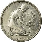 Germany / Fifty Pfennigs 1979 - obverse photo