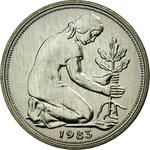 Germany / Fifty Pfennigs 1983 - obverse photo