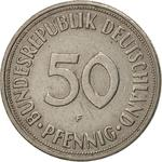 Germany / Fifty Pfennigs 1968 - reverse photo
