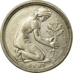Germany / Fifty Pfennigs 1949 - obverse photo