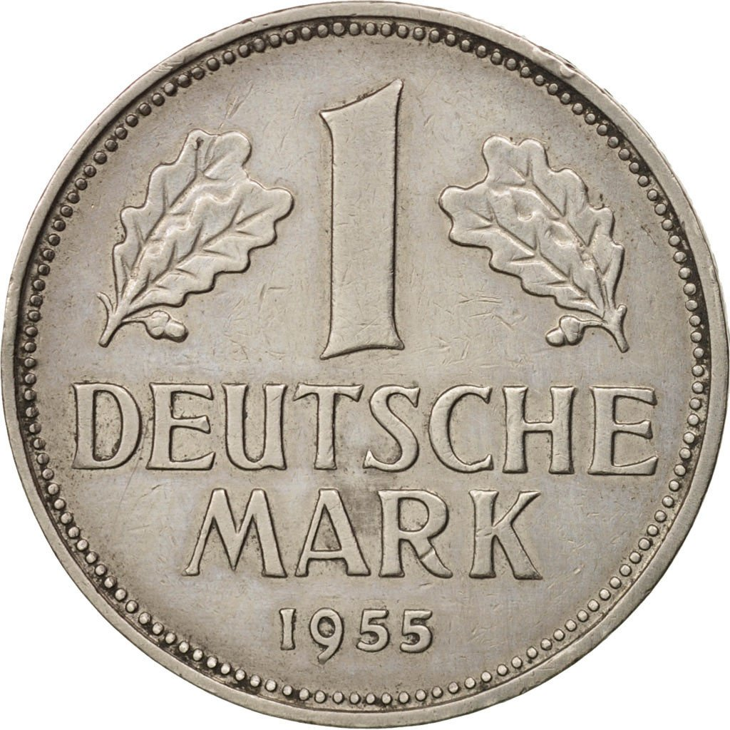 One Mark 1955: Photo Coin, Germany, Mark 1955