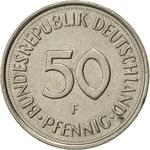 Germany / Fifty Pfennigs 1992 - reverse photo