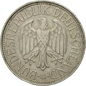 Germany / One Mark 1975 - obverse photo