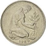 Germany / Fifty Pfennigs 1989 - obverse photo
