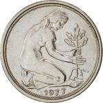 Germany / Fifty Pfennigs 1977 - obverse photo