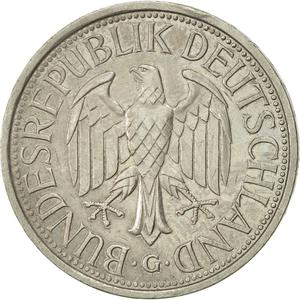 Germany / One Mark 1980 - obverse photo