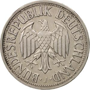 Germany / One Mark 1955 - obverse photo
