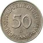 Germany / Fifty Pfennigs 1982 - reverse photo