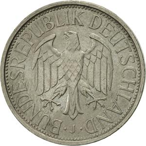 Germany / One Mark 1972 - obverse photo