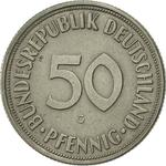 Germany / Fifty Pfennigs 1969 - reverse photo