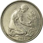 Germany / Fifty Pfennigs 1978 - obverse photo