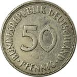 Germany / Fifty Pfennigs 1973 - reverse photo