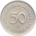 Germany / Fifty Pfennigs 1995 - reverse photo