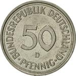 Germany / Fifty Pfennigs 1985 - reverse photo