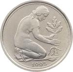 Germany / Fifty Pfennigs 1995 - obverse photo