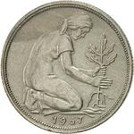 Germany / Fifty Pfennigs 1967 - obverse photo