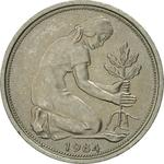 Germany / Fifty Pfennigs 1984 - obverse photo