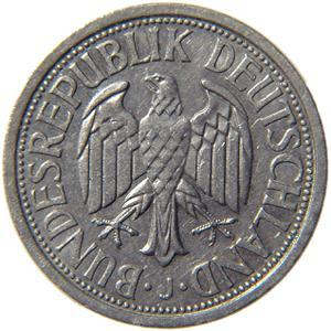 Germany / Two Marks 1951 - obverse photo