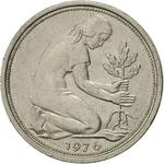 Germany / Fifty Pfennigs 1976 - obverse photo