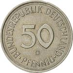 Germany / Fifty Pfennigs 1989 - reverse photo