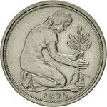 Germany / Fifty Pfennigs 1975 - obverse photo