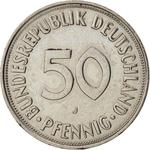 Germany / Fifty Pfennigs 1974 - reverse photo