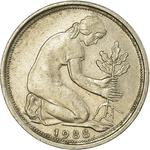 Germany / Fifty Pfennigs 1988 - obverse photo