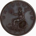 Great Britain / Halfpenny 1799 (Pattern) - reverse photo