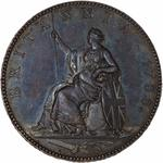Great Britain / Halfpenny 1788 (Pattern) - reverse photo