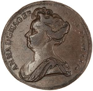Great Britain / Halfpenny 1707 (Pattern)