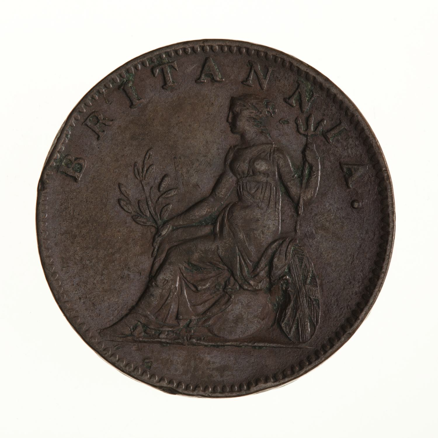 Two Lepta 1819: Photo Coin - 2 Lepta, Ionian Islands, Greece, 1819