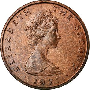Isle of Man / Two Pence 1971 - obverse photo