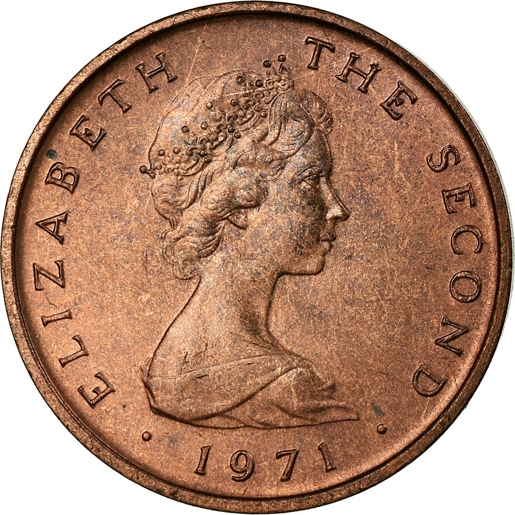 Half Penny 1971: Photo Coin, Isle of Man, Half Penny 1971