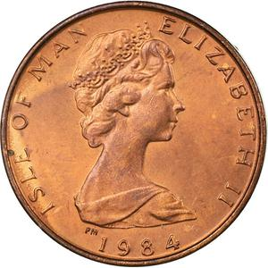 Isle of Man / Half Penny 1984 - obverse photo