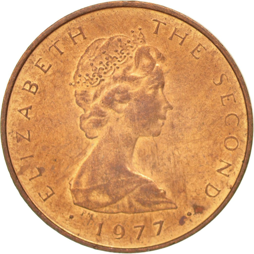 Half Penny 1977: Photo Coin, Isle of Man, Half Penny 1977