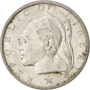 Liberia / Ten Cents 1960 - obverse photo