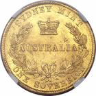 Australian Sovereign 1866: Photo Australia 1866-S sovereign
