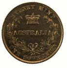 Australian Sovereign 1866: Photo Coin - Sovereign, New South Wales, Australia, 1866