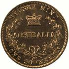 Australian Sovereign 1870: Photo Coin - Sovereign, New South Wales, Australia, 1870