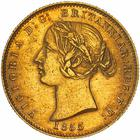 New South Wales / Australian Half Sovereign 1855 - obverse photo