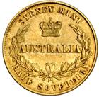 New South Wales / Australian Half Sovereign 1865 - reverse photo