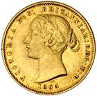 New South Wales / Australian Half Sovereign 1865 - obverse photo