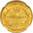 Australian Sovereign 1860: Photo Australia 1860-S sovereign